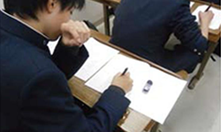 特長1:『知識・応用力・スピードを養う』授業